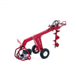 Little Beaver Hydraulic Towable Drill 11 HP Honda With Tow Bar - HYD-TB11H
