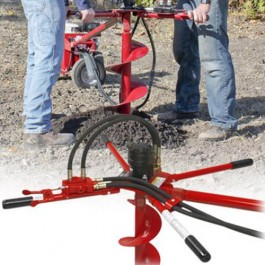 Little Beaver Two Man Handle for Remote Drilling - HYD-2MHNPT