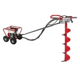 Little Beaver 5.5 HP Post Hole Digger Honda with Roll Cage - MDL-5HPR7