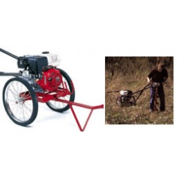 Little Beaver Earth Drill, 8 HP Honda Engine Rick Sha with 20:1 Transmission - MDL-8H27