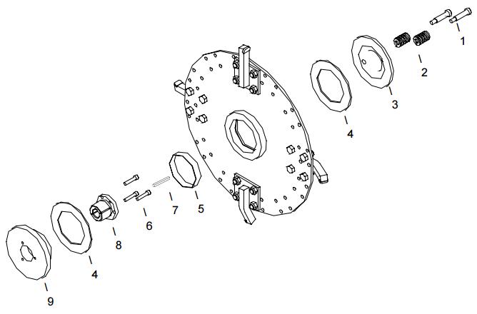 Little Beaver KT2400B Cutter Wheel Assembly Parts Diagram