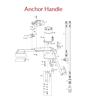 Hydraulic Anchor Handle Assembly