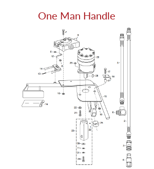 Hydraulic One Man Handle Assembly