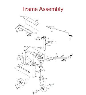 KT200B Frame Assembly Parts