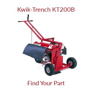 Kwik-Trench KT200B Parts