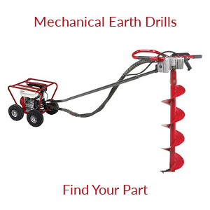 Mechanical Earth Drill Parts
