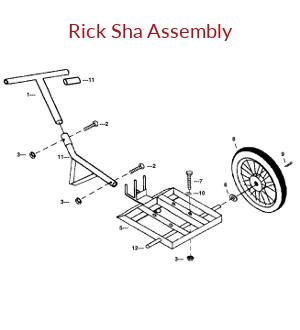 Mechanical Earth Drill Rick Sha Assembly
