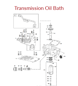 Mechanical Earth Drill Transmission Oil Bath Assembly