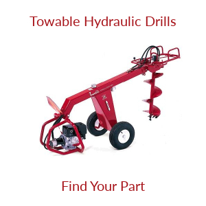 Towable Hydraulic Earth Drill Parts