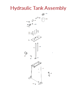 Towable Hydraulic Tank Assembly