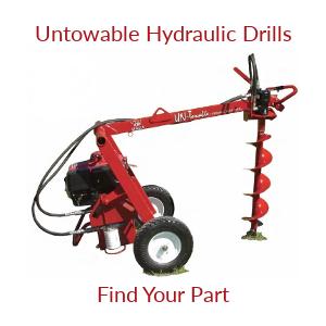 Untowable Hydraulic Earth Drill Parts